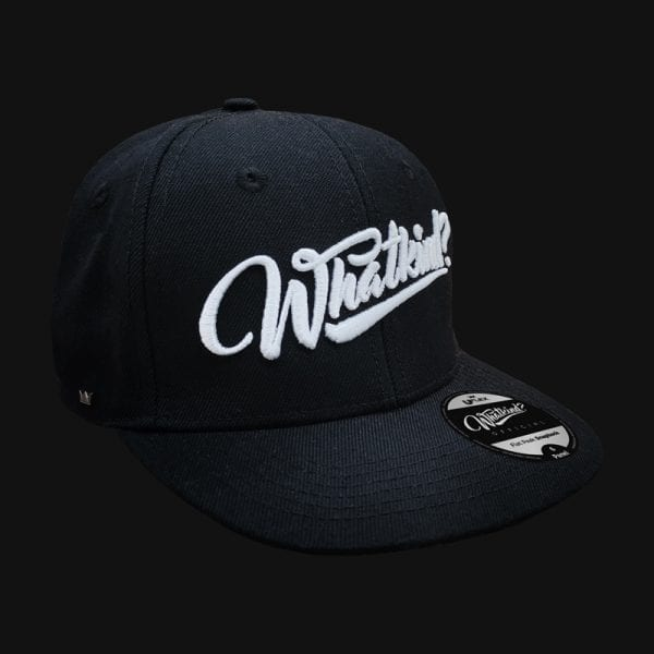 Whatkind Kids Adults Black Cap
