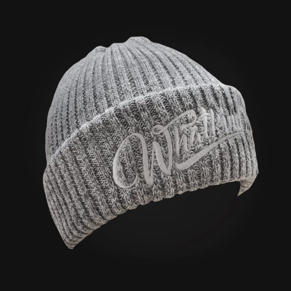 Grey Melange Whatkind Beanie