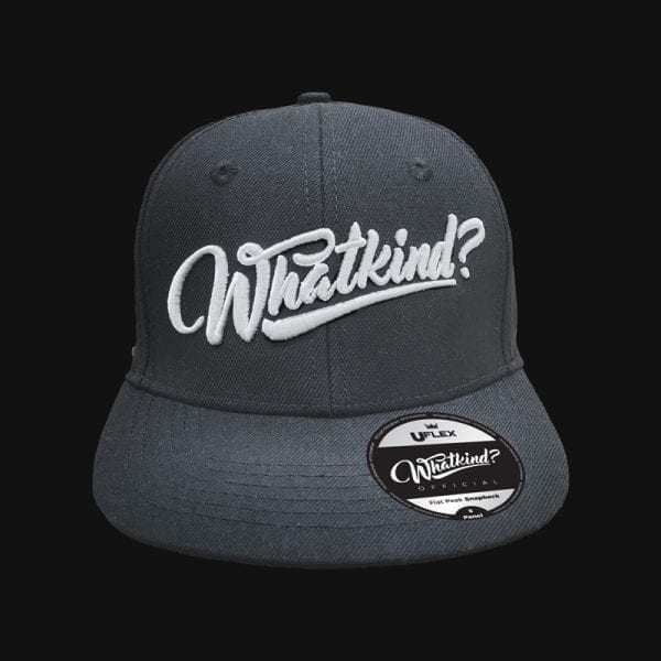 Whatkind Adults Charcoal Cap